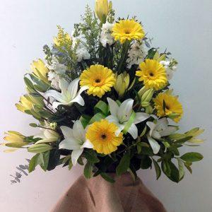 large-church-bowl-arrangements-lillies-and-gerbera-185