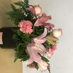 Pretty in Pink Ceramic Arrangement
